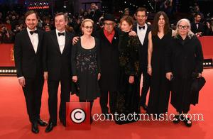 Meryl Streep, Dieter Kosslick, Nick James, Clive Owen, Lars Eidinger, Alba Rohrwacher, Brigitte Lacombe and Małgorzata Szumowska