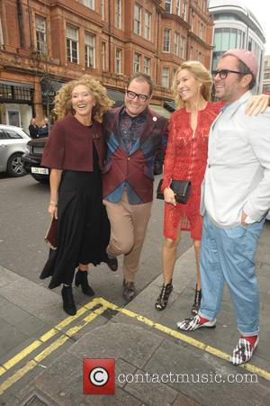Kelly Hoppen and Alan Car