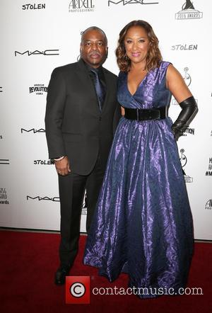 Levar Burton and Stephanie Cozart Burton