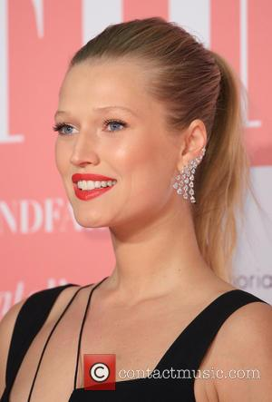 Toni Garrn - London's Naked Heart Foundation's Fabulous Fund Fair 2016 held at Old Billingsgate - Arrivals at Old Billingsgate...