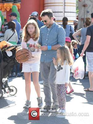Breckin Meyer, Clover Meyer and Caitlin Willow Meyer