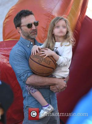 Breckin Meyer and Clover Meyer