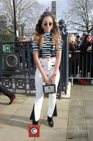 Ella Eyre - London Fashion Week Autumn/Winter 2016 - Topshop Unique - Outside Arrivals at London Fashion Week - London,...