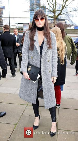 Lilah Parsons - London Fashion Week Autumn/Winter 2016 - Topshop Unique - Outside Arrivals at London Fashion Week - London,...