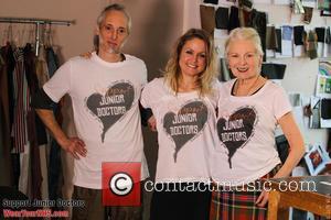 Ben Westwood, Dr Lauren Gavaghan and Vivienne Westwood