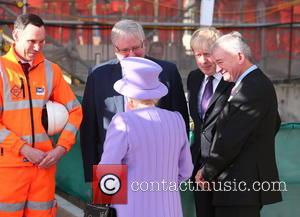 Queen Elizabeth Ii, Boris Johnson and Patrick Mcloughlin