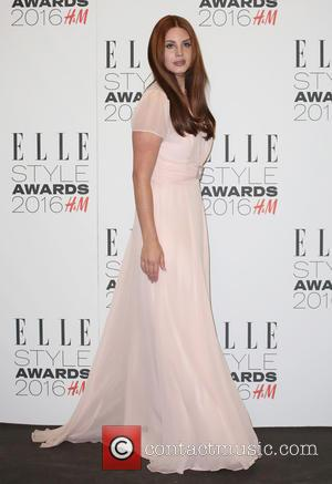 Lana Del Rey - The Elle Style Awards 2016 - Arrivals at The Elle Style Awards - London, United Kingdom...