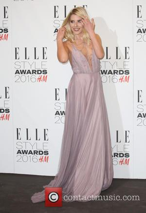 Mollie King - The Elle Style Awards 2016 - Arrivals at The Elle Style Awards - London, United Kingdom -...
