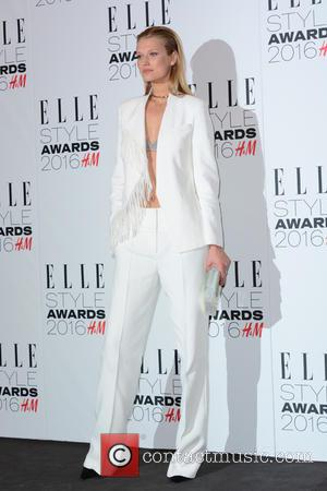 TONI GARRN - Elle Style Awards 2016 at Tate Britain at Elle Style Awards - London, United Kingdom - Tuesday...