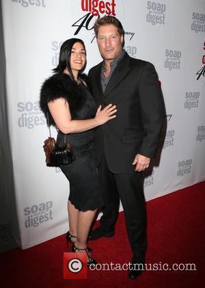 Michele Vega and Sean Kanan