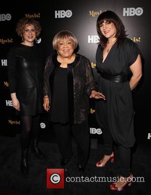 Sara Bernstein, Mavis Staples and Jessica Edwards