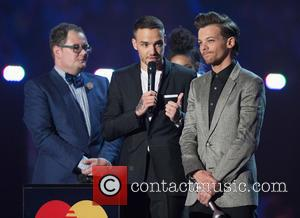 Alan Carr, Liam Payne and Louis Tomlinson
