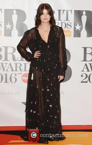 Pixie Geldof - The Brit Awards 2016 (Brits) held at the O2 - Arrivals at The Brit Awards - London,...