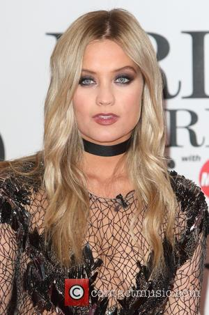 Laura Whitmore - Brit Awards Red Carpet 2016 at the O2 Arena, London at O2 Arena, Brit Awards - London,...