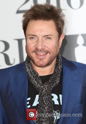 Simon Le Bon - Brit Awards Red Carpet 2016 at the O2 Arena, London at O2 Arena, Brit Awards -...