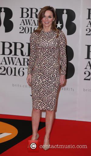 Geri Halliwell - BRIT Awards 2016 - Arrivals - London, United Kingdom - Wednesday 24th February 2016