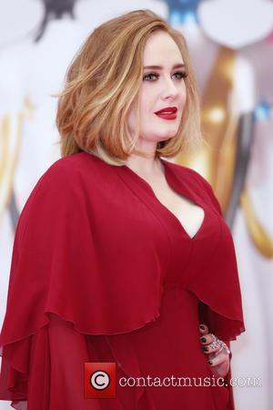 Adele Adkins - The Brit Awards 2016 (Brits) held at the O2 - Arrivals at The Brit Awards - London,...
