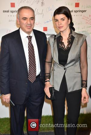 Garry Kasparov and Daria Kasparov