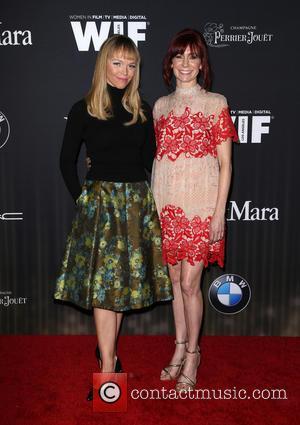 Lauren Bowles and Carrie Preston