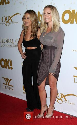 Jessica Hall , Kendra Wilkinson - OK! Magazine's Pre-Oscar Party In Support of Global Gift Foundation held at Beso restaurant...