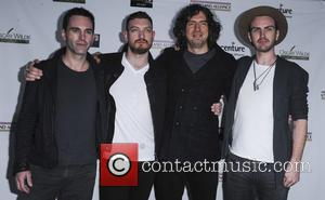 Oscar Wilde, Johnny Mcdaid, Nathan Connolly, Gary Lighbody and Paul Wilson