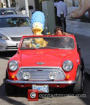 Marge Simpson and Baby Maggie Simpson Dummies