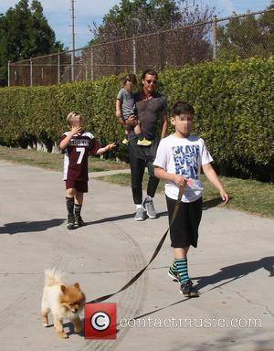 Gavin Rossdale, Apollo Rossdale, Kingston Rossdale and Zuma Rossdale