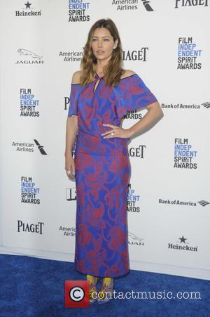 Jessica Biel - 2016 Film Independent Spirit Awards held at Santa Monica Beach - Arrivals at Independent Spirit Awards -...