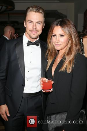 Derek Hough and Ashley Tisdale