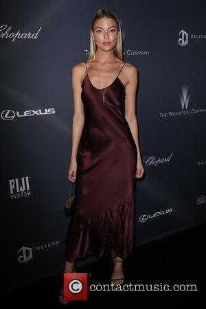 Martha Hunt - Weinstein Company's Pre-Oscar Dinner 2016 at Montage Beverly Hills at Montage Beverly Hills - Beverly Hills, California,...