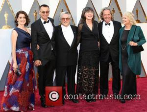 Guests, George Miller, Margaret Sixel, Doug Mitchell and Guest