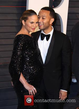 Chrissy Teigen And John Legend Celebrate Royal Baby Shower