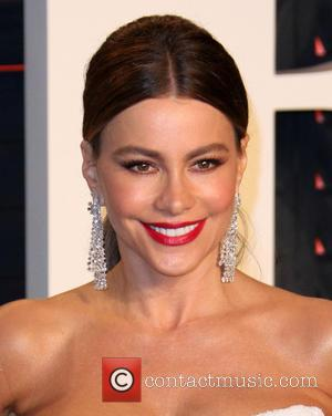 Sofia Vergara - Vanity Fair Oscar Party 2016 held at the Wallis Annenberg Center for the Performing Arts in Beverly...