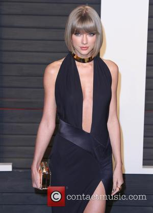 Taylor Swift - Vanity Fair Oscar Party 2016 held at the Wallis Annenberg Center for the Performing Arts in Beverly...