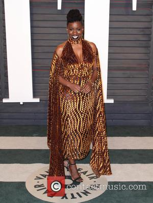 Adepero Oduye - Vanity Fair Oscar Party 2016 held at the Wallis Annenberg Center for the Performing Arts in Beverly...