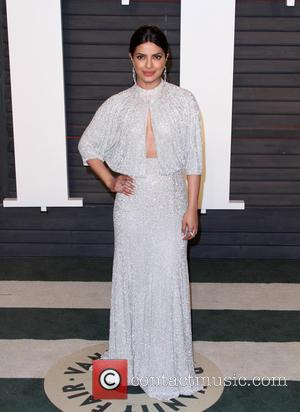 Priyanka Chopra - Vanity Fair Oscar Party 2016 held at the Wallis Annenberg Center for the Performing Arts in Beverly...