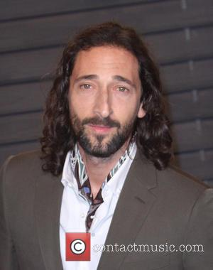 Adrien Brody takes part in Domingo Zapata's art exhibition opening at ...