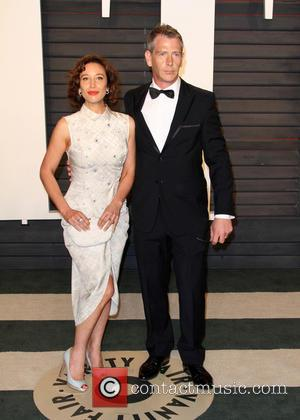 Ben Mendelsohn , Emma Forrest - Vanity Fair Oscar Party 2016 held at the Wallis Annenberg Center for the Performing...