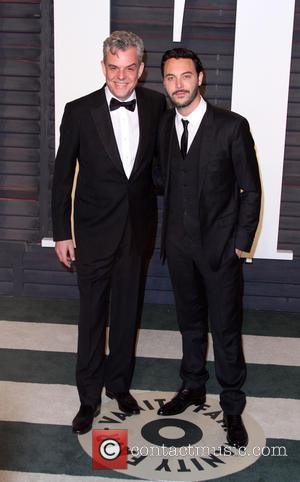 Danny Huston and Jack Huston