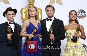 Mark Rylance, Brie Larson, Leonardo Dicaprio and Alicia Vikander