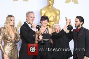 Margot Robbie, Damian Martin, Elka Wardega, Lesley Vanderwalt and Jared Leto