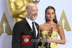 J.k. Simmons and Alicia Vikander