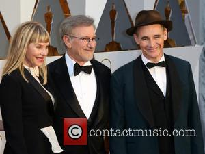 Kate Capshaw, Steven Spielberg and Mark Rylance