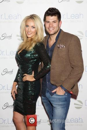 Leah Totton and Mark Wright