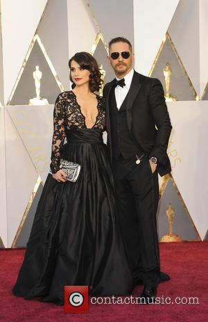 Tom Hardy , Charlotte Riley - The 88th Annual Academy Awards Arrivals at Academy Awards - Los Angeles, California, United...