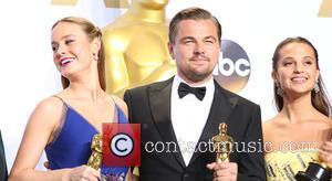 Brie Larson, Leonardo Dicaprio and Alicia Vikander