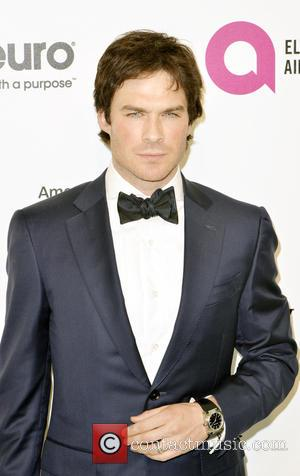 Ian Somerhalder - 24th Annual Elton John AIDS Foundation's Oscar Viewing Party at The City of West Hollywood Park -...