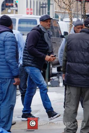 Will Smith - Will Smith on the set of Collateral Beauty - Manhattan, New York, United States - Tuesday 1st...