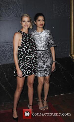 Teresa Palmer and Freida Pinto