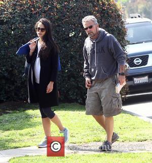 Jordana Brewster , Alden Brewster - Jordana Brewster out in Los Angeles with her father Alden Brewster - Los Angeles,...